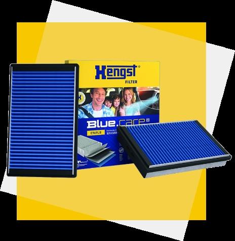 Hengst filtry kabinowe Blue.care