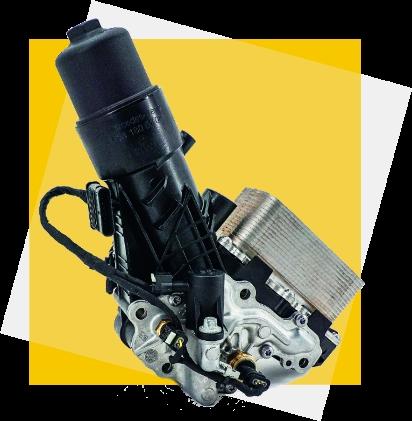 Hengst moduł filtracji oleju Hengst dla Mercedes-Benz