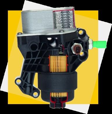 Hengst system filtracji oleju Hengst w modułowych silnikach diesla