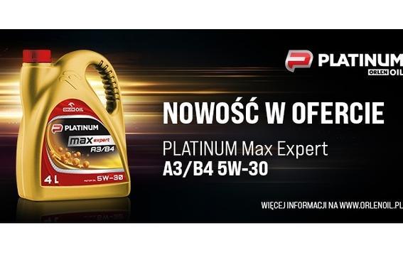 Nowy olej w linii PLATINUM Max Expert