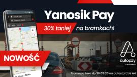 Yanosik Pay - nowa usługa dla kierowców - od teraz zapłacą mniej na bramkach