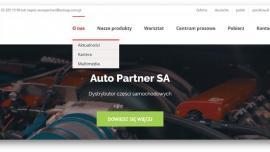 Auto Partner SA z nową odsłoną strony internetowej