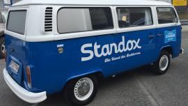 """Renowacja kultowego """"ogórka"""" z marką Standox"""