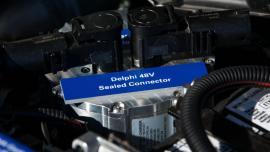 E-turbosprężarka Delphi