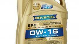 PRODUKT ROKU 2016: RAVENOL Extra Fuel Economy EFE SAE 0W-16