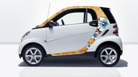 Smart art stickers dla smart fortwo coupe