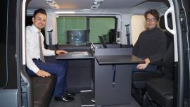 Modułowe wyposażenie samochodów kempingowych z łożyskami liniowymi (video)