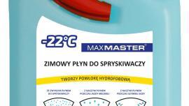 """PRODUKT ROKU 2017: MaxMaster -22°C zimowy płyn do spryskiwaczy hydrofobowy """"Niewidzialna Wycieraczka"""""""