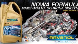 RAVENOL prezentuje nową ulepszoną formulację CVT Fluid