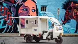 """Wyjątkowy eksperyment Tork, """"Mydło na kółkach"""", pomaga food truckom zadbać o higienę"""