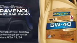 RAVENOL prezentuje nowy olej silnikowy z klasą ACEA A3/B4