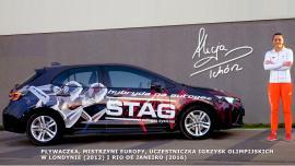 Mistrzyni Europy ambasadorem marki STAG