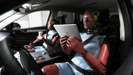 Systemy ochrony pasażerów w autonomicznych pojazdach Kia