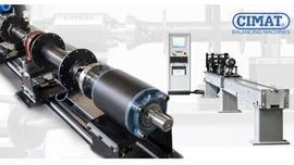 Wyważarka CMT-180 WN Optima do wałów napędowych  dla warsztatów remontowych oraz naprawczych