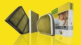 Filtr FreciousPlus marki MANN-FILTER zapewnia czyste powietrze w kabinie pojazdu