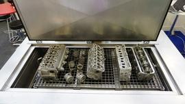 Myjka ultradźwiękowa do warsztatu regeneracji  części samochodowych i nie tylko