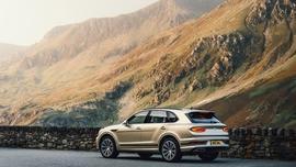 Nowy hybrydowy model Bentleya – Bentyaga Hybrid