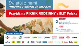 ELIT Polska zaprasza na Piknik Rodzinny z okazji otwarcia CN Wrocław