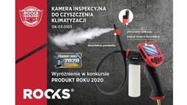 Kamera do czyszczenia i odkażania klimatyzacji ROOKS wyróżniona w konkursie Produkt Roku 2020 czasopisma autoEXPERT