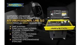 Nowe urządzenie Ravenol do dynamicznej wymiany oleju ATF