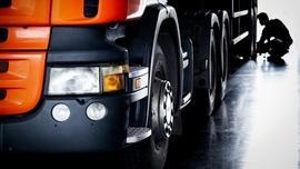 Diagnostyka samochodu ciężarowego
