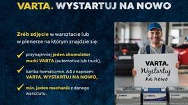 """Clarios wspiera warsztaty. Kampania """"VARTA.WYSTARTUJ NA NOWO."""" Konkurs fotograficzny."""