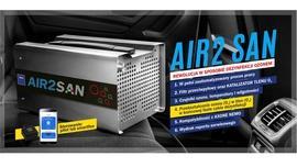 TEXA AIR2 SAN – rewolucja w sposobie dezynfekcji ozonem