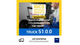 Aktualizacja oprogramowania IDC5 TRUCK 51.0.0