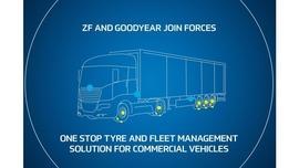 Firmy ZF i Goodyear łączą siły, aby wspólnie oferować ulepszone rozwiązania w zakresie zarządzania oponami i flotą pojazdów użytkowych na terenie całej Europy