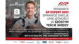 AP EXPERT 2021 – szósty test eliminacyjny
