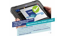 TEXA Security Access do diagnostyki samochodów z modułem SGW