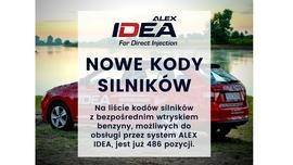 Rozszerzenie kodów silników do systemu ALEX IDEA