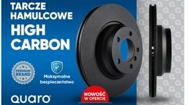 Nowość w ofercie Auto Partner SA – tarcze hamulcowe High Carbon marki Quaro