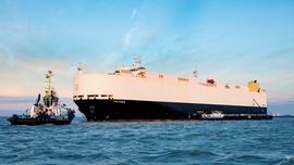 Volkswagen napędza statki transportujące samochody zużytym olejem z restauracji
