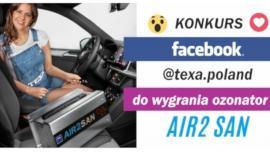 Ozonator Air2 SAN do wygrania w konkursie TEXA