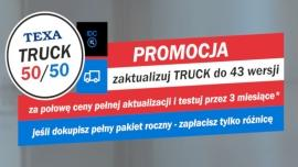 Promocja na abonament TEXA TRUCK 50/50