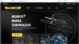 Monroe uruchamia nową witrynę internetową zorientowaną na zapewnienie wsparcia i prezentację produktów