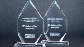 ZF Aftermarket podwójnie wyróżniony nagrodą Największego Dostawcy 2020 roku